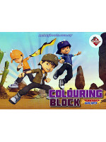 Colouring Block Boboiboy Galaxy 4