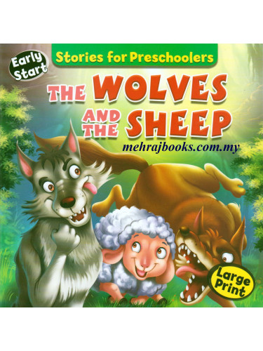 Stories for Preschoolers The Wolves And The Sheep