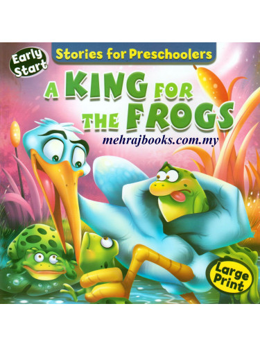 Stories for Preschoolers A King For The Frogs