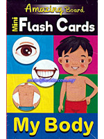 Amazing Board Mini Flash Cards My Body