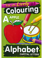 Fun With Lively Colouring Alphabet Capital Letters