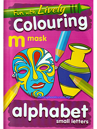 Fun With Lively Colouring Alphabet Small Letters