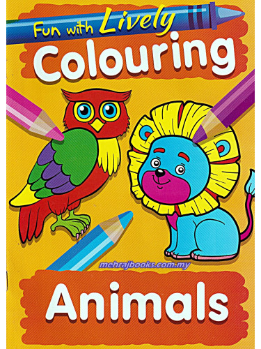 Fun With Lively Colouring Animals