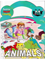 Sunrise Smart Colouring Book: Animals