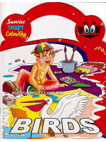 Sunrise Smart Colouring Book: Birds