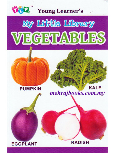 Young Learner's My Little Library Vegetables