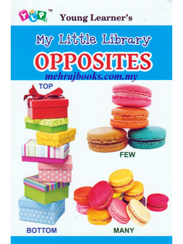 Young Learner's My Little Library Opposites