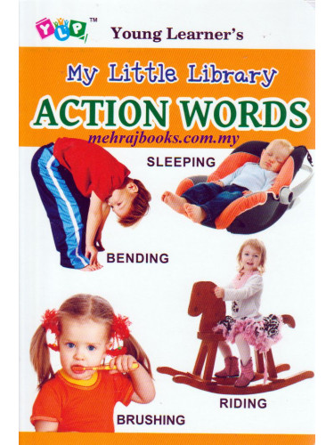 Young Learner's My Little Library Action Words