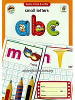 Read, Trace & Write Small Letters abc