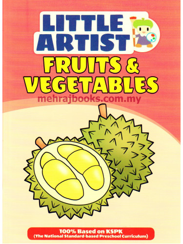 Little Artist: Fruits & Vegetables