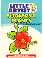 Little Artist: Flowers & Plants