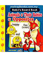 Baby's Board Book Animal & Their Babies & Opposites (Pocket Size)