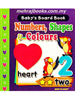 Baby's Board Book Numbers, Shapes & Colors (Pocket Size)