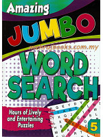 Amazing Jumbo Word Search 5
