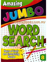 Amazing Jumbo Word Search 8
