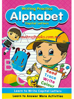 Writing Practice Alphabets Capital Letters