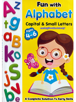Fun With Alphabet Capital & Small Letters Ages 4-6