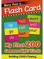Flash Cards My First 200 Common Sight Word