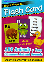 Flash Cards ABC, Animals And Some Common Animals Sound