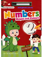 Writing Practice Numbers, Shapes And Colours