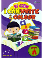 Si Cilik I Can Write & Colour Book A