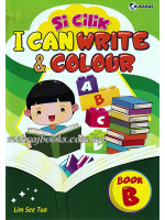 Si Cilik I Can Write & Colour Book B