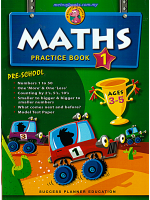 Maths Practice Book 1 Pre-school Ages 3-5
