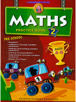 Maths Practice Book 2 Pre-school Age 4-6