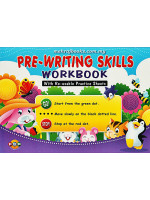 Pre-Writing Skills Workbook with Re-Usable Practice Sheets