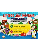 Letters ABC Writing Workbook with Re-Usable Practice Sheets