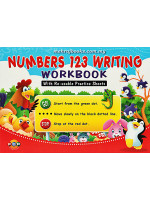 Numbers 123 Writing Workbook with Re-Usable Practice Sheets