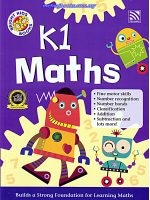 Bright Kids Books K1 Maths
