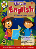 Shine In English For Pre-Primary Learners