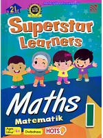 Superstar Learners Maths-Dwibahasa 1