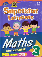 Superstar Learners Maths-Dwibahasa 3