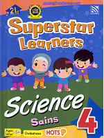 Superstar Learners Science-Dwibahasa 4