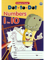Dot-To-Dot Numbers 1 To 10