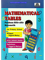 Mathematical Tables For Primary School-Dwibahasa
