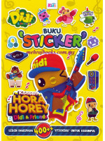 Didi & Friends Buku Sticker