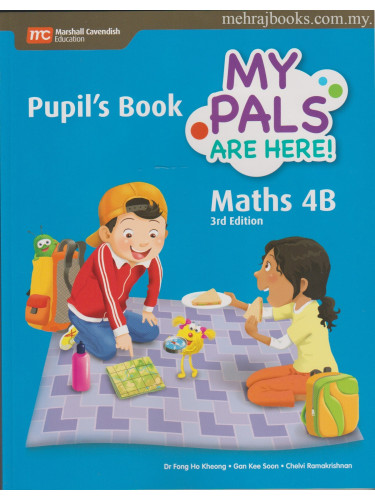 My Pals Are Here! Maths Pupil's Book 4B 3rd Edition