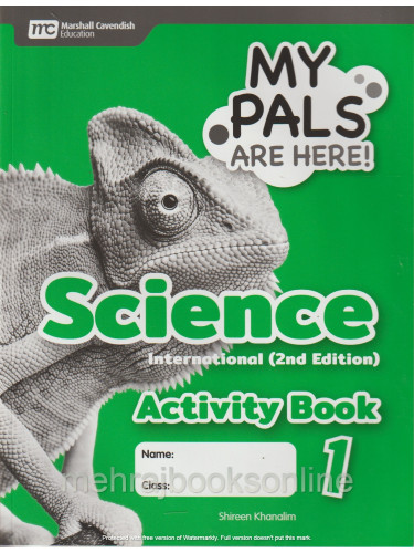 My Pals Are Here! Science International (2nd Edition) Activity Book 1
