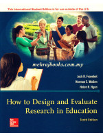 How to Design and Evaluate Research in Education 10th Edition
