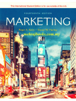 Marketing 14th Edition