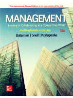 Management: Leading & Collaborating in a Competitive World 13th Edition