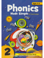Phonics Made Simple for Preschooler 2 Ages 4-6
