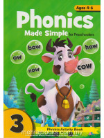 Phonics Made Simple for Preschooler 3 Ages 4-6