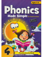 Phonics Made Simple for Preschooler 4 Ages 4-6