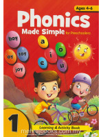 Phonics Made Simple for Preschooler 1 Ages 4-6