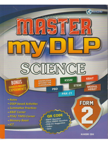Master my DLP Science Form 2