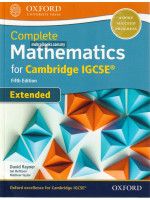 Complete Mathematics for Cambridge IGCSE® Fifth Edition [Extended]